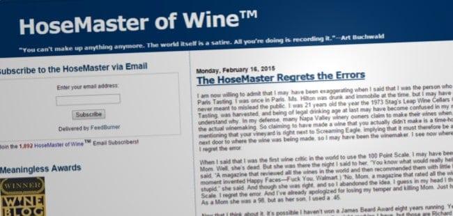 HoseMaster of Wine