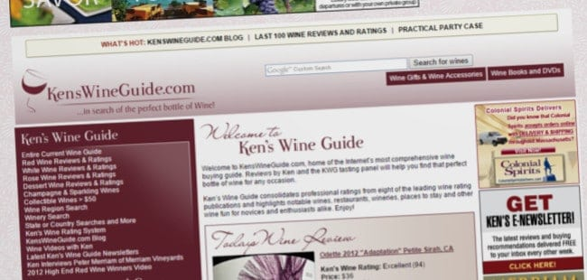 Kens Wine Guide