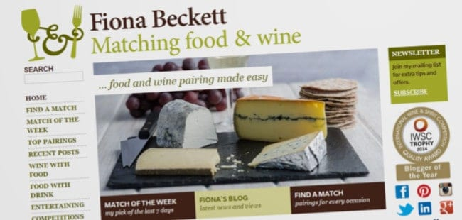 Matching Food & Wine