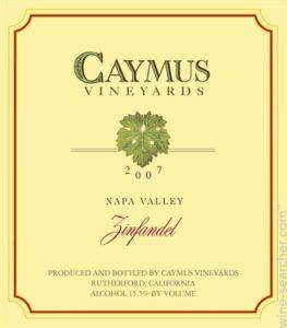 new world wine label