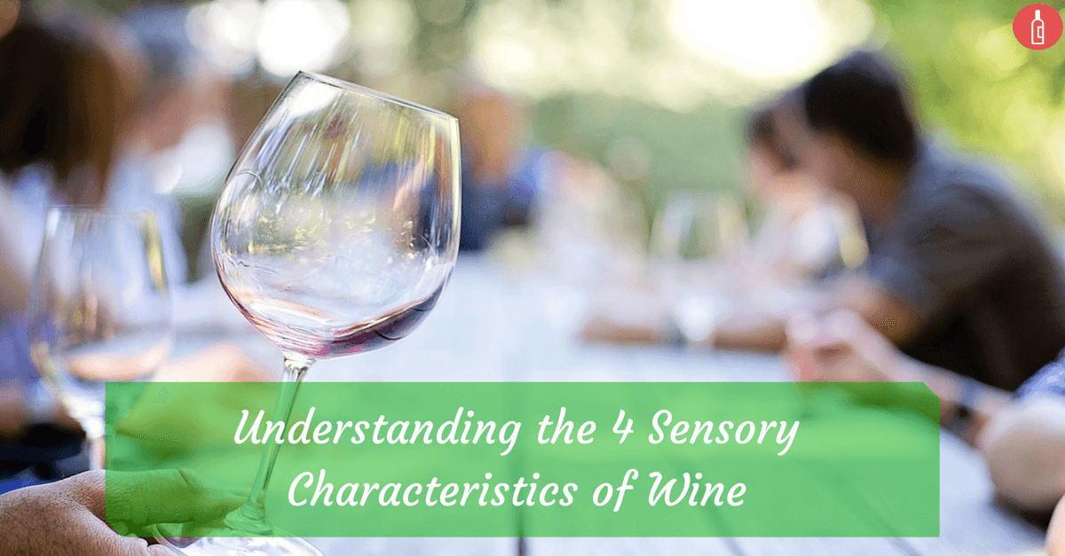 sensory characteristics of wine