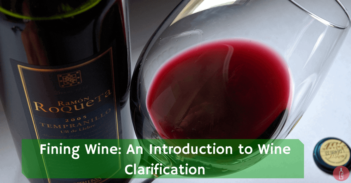 fining wine clarification agents