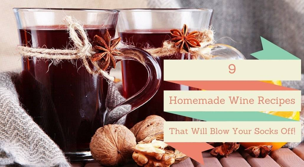 homemade wine making recipes