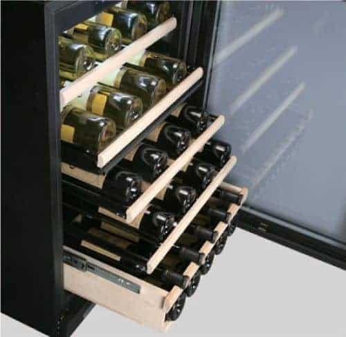 File of bottle wines