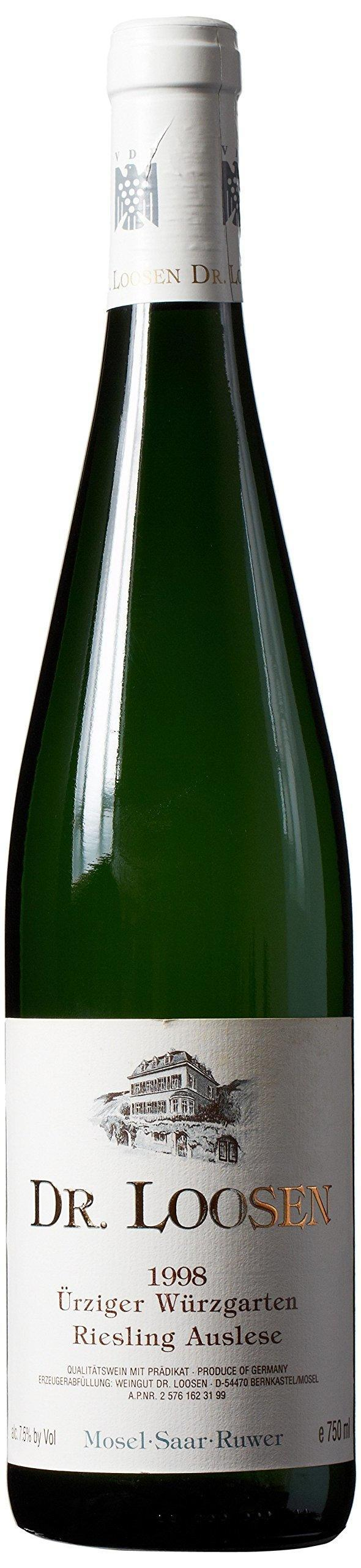 1998 Dr Loosen Urziger Wurzgarten Riesling Auslese Wine
