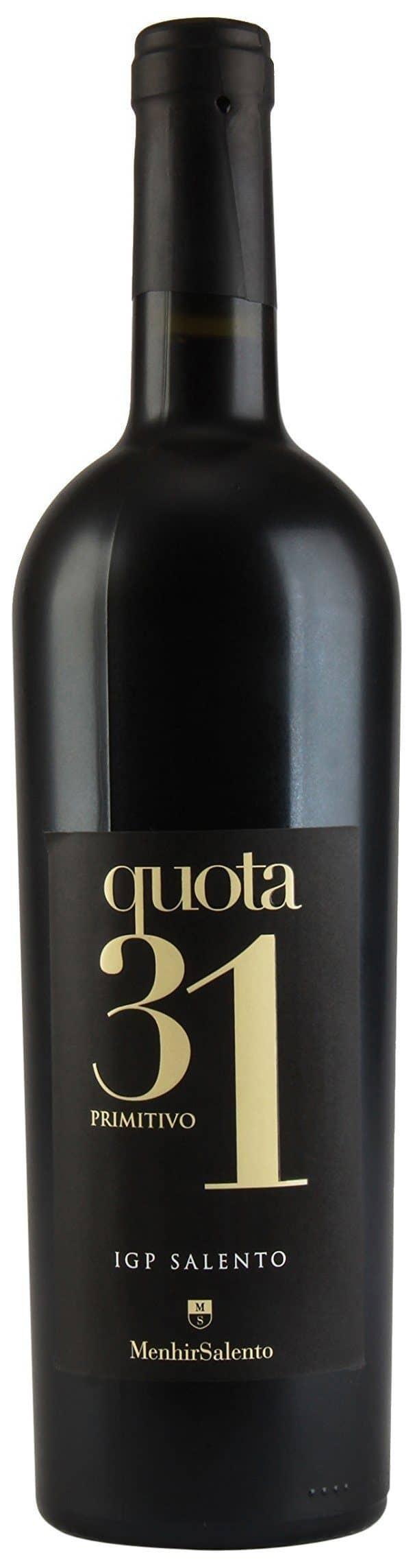 2011 Menhir Primitivo Quota 31 Wine