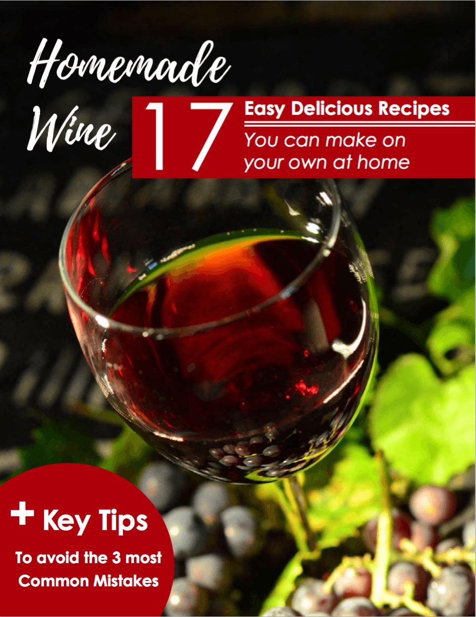 Homemade Wine eBook Cover