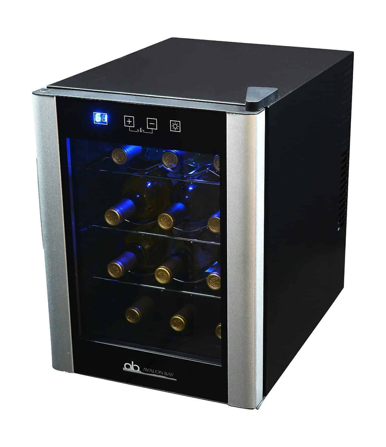 Avalon Bay 12 AB-WINE12S Bottle Single Zone Wine Cooler