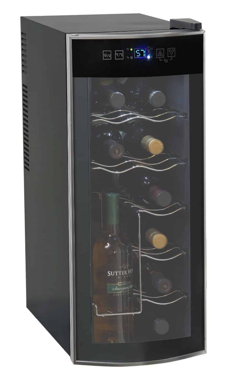 Avanti EWC1201 12 Bottle Thermoelectric Counter Top Wine Cooler