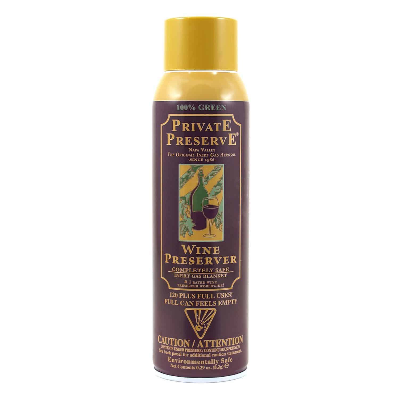 Private Preserve Wine Preservation Spray
