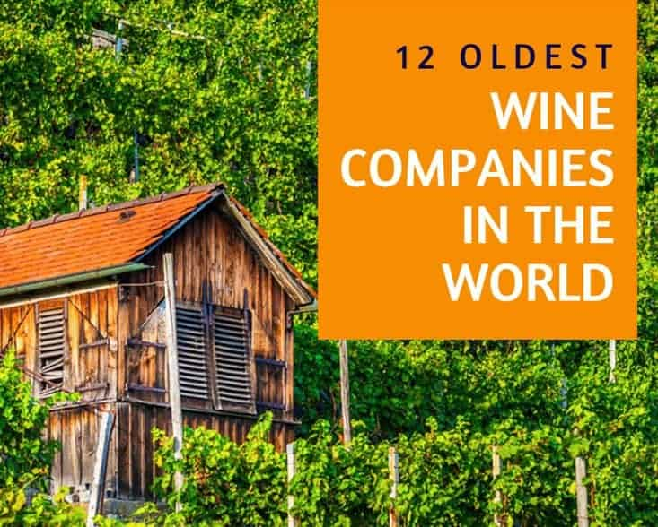12 Oldest Wine Companies In The World