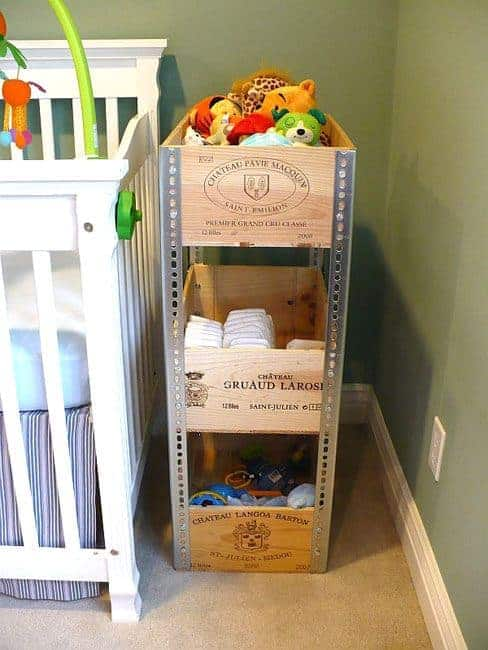 Wine Crates & Bathroom Décor