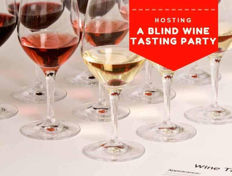 Hosting A Blind Wine Tasting Party
