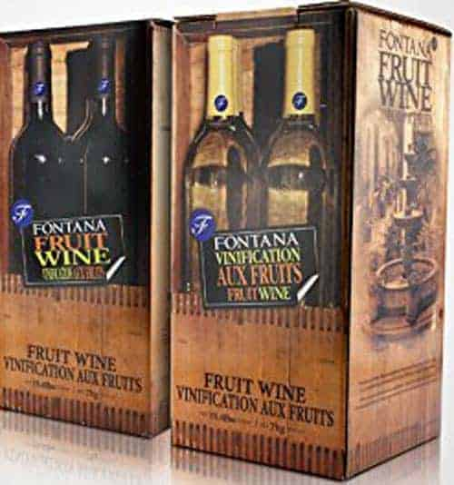 Fontana Fruit Wine Making Kit