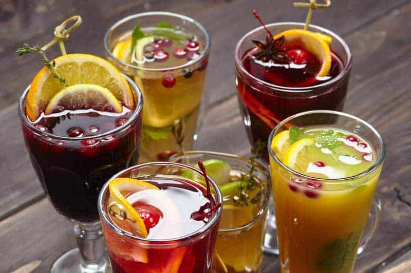 red wine cocktails