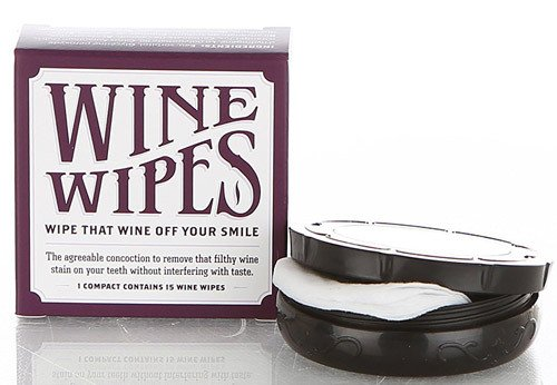 Wine Wipes - 1 compact of 15 wipes