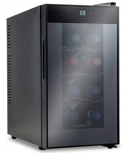 Ivation 8-Bottle Thermoelectric Wine Cooler