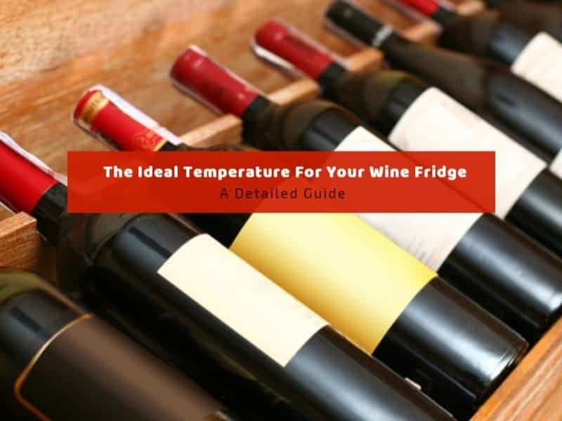 The Ideal Temperature Wine Fridge: A Detailed Guide