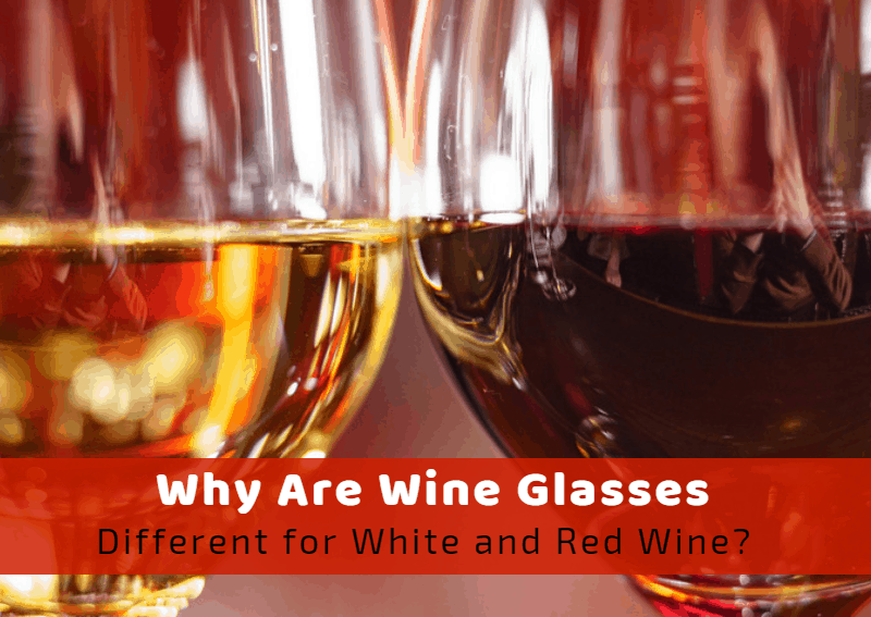 Why Are Wine Glasses Different For White And Red Wine?