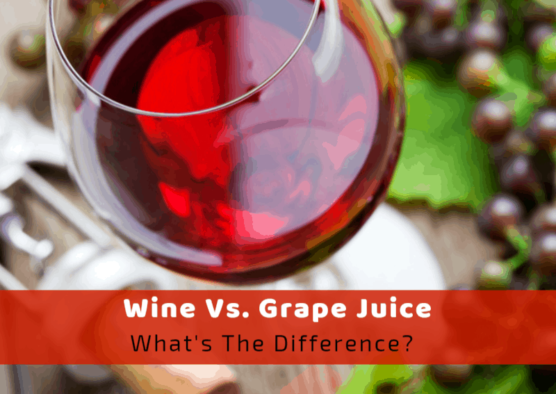 Wine vs. Grape Juice: What's The Difference?