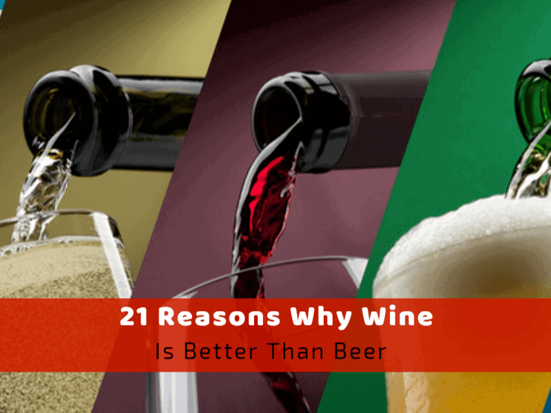 21 Reasons Why Wine Is Better Than Beer