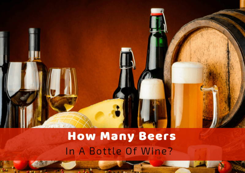 How Many Beers In A Bottle Of Wine?