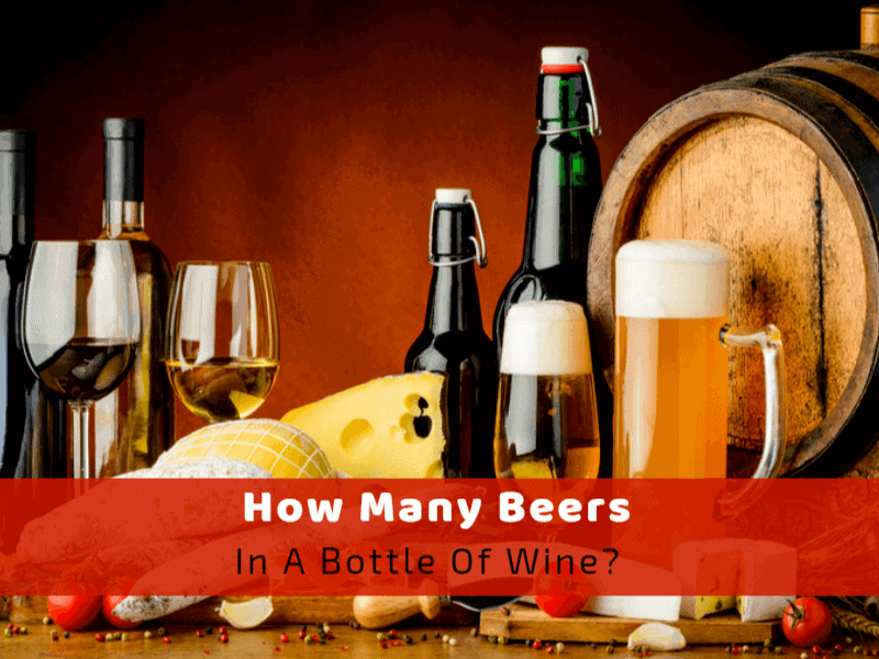 How Many Beers In A Bottle Of Wine? - Wine Turtle