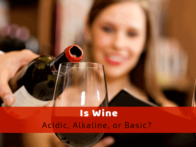 is wine acidic alkaline or basic