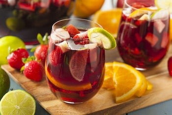 Red Sangria - wine cooler