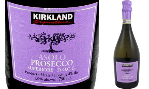 Costco Kirklands Prosecco