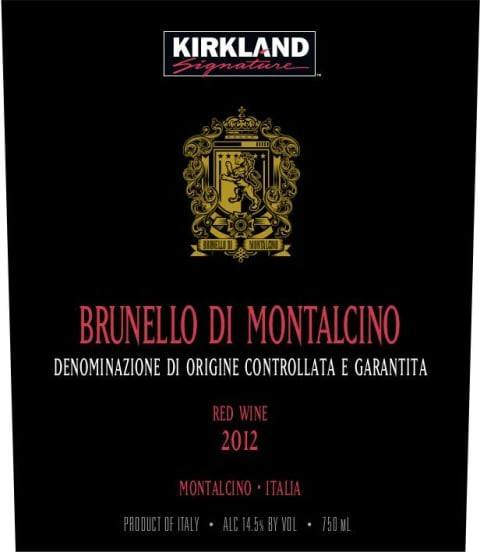 Kirkland Signature Brunello Di Montalcino