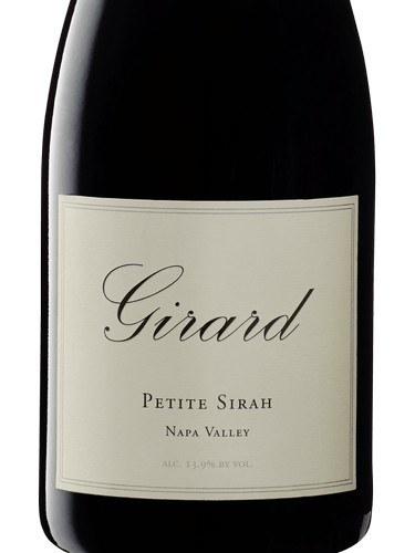 girard petite sirah wine